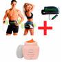 Vibroaction Cinto Massagem Eletrico + Gel Redutor De Medidas
