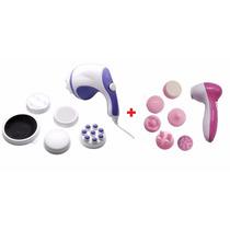 Massageador Spin Relax Tone Orbital 4 + Derma Spa Esfoliação
