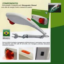 Massageador W Fisio Infravermelho Alpha 7 Frete Grátis !!