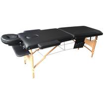 Divã Mala Dobrável C/ Orificio Mesa Maca Massagem Estetica