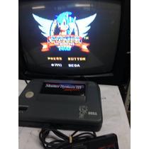Master System 3 Conpact Com Sonic Na Memoria