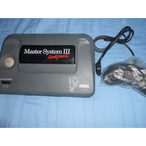 Master System 3 Compact Mortal Kombat 2 Completa Fire & Ice