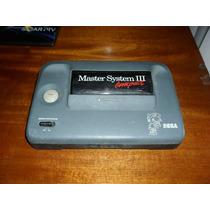 Master System 3 Somente O Console. Leia