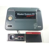 Video Game Master System Compact + Controle Original + Jogo