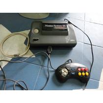 Console Master System 3 Com Sonic Na Memoria Funcionando