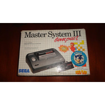 Master System Iii Compact Completo + 2 Jogos