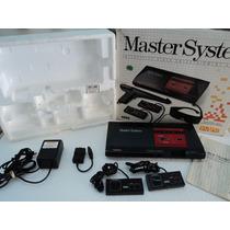 Master System Completo Com Caixa