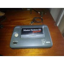 Master System 3 Com Sonic Na Memória Somente O Console 100%