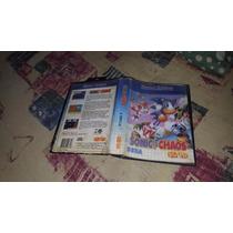 Sonic Chaos Somente A Caixa Para O Master System.