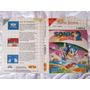 Encarte Original - Sonic 2 - Tectoy - Complete A Sua Coleção