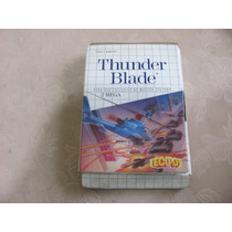 Thunder Blade Master System Caixa E Manual Tec Toy