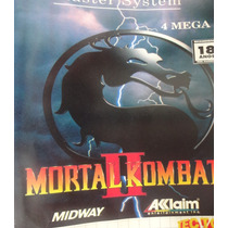 Jogo De Master System - Mortal Kombat 2 - ( Tec Toy)