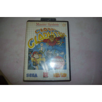 Cartucho+capa+manual P/ Master System Global Gladiators!!!