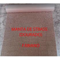 Kit Com Meia Manta + 20 Metros De Strass