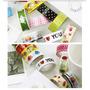Kit 6 Fitas Adesivas Durex Colorido Decorado. Frete R$ 7,50