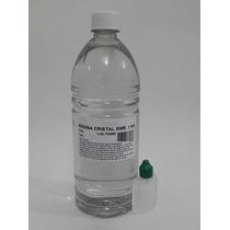 Resina Cristal Poliéster 1kg+catalisador - Molde Artesanato