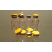 Frasco Penicilina 10ml C/borracha E Selo Flip Off Kit C/250