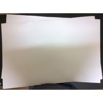 10 Folhas De Eva Branco 40cm X 60cm, 1mm De Espessura