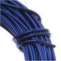 Fio Artesanal De Alumínio Azul Royal Medida 18 (11.8 Metros)