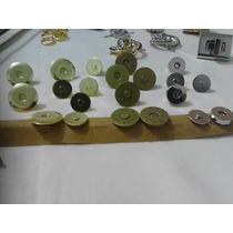 Botão Magnetico Dourado 19mm Pacote C/ 12 Un. Bolsa E Clutch