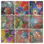 Tecido Chita,chitão,reps,floral Para Toalhas,artesanato,etc