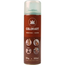 Verniz Para Madeira Spray Uso Geral 300ml Natural Fosco