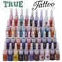 Tinta Para Tatuagem Kit 40 Tintas - A Pronta Entrega