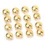 Kit 300 Spikes Tachinhas Bola Dourada 6mm - Tachas Rebites