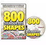 Dvd 800 Figuras Prontas Para Silhouette Sd / Cameo Volume 3