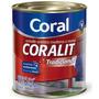 Tinta Coral Esmalte Coralit, Acetinado, Verde Colonial,3,6l.