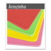 Placa De Borracha Microporosa Chinelo Kit Com 4 Placas