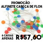 Kit Promocional - Compre 6 Caixas De Alfinete Cabeça De Flor