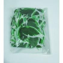 Pacote Folhas Artificiais - Folhagem Floresta Tapetes Verdes