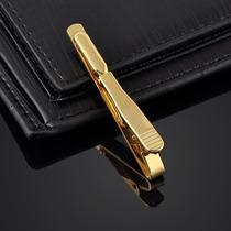 Juliagemas Leilão!r$30lindo Prendendor De Gravatas Dourado6g