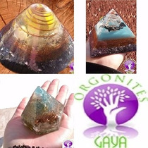 Kit 3 Orgonite= 1 Cone Gerador + 1 Diamante + 1 Piramide G