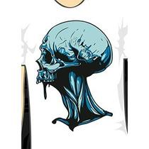 Moldes Vazados - Stencil - Para Aerografia E Pinturas Msk01