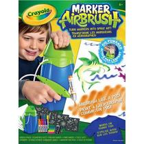 Crayola Marker Airbrush - Funciona Em Tecido Tambem!
