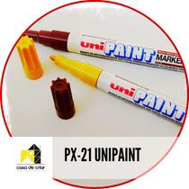 Caneta Para Porcelanas E Metal Unipaint Px-21 / Posca
