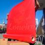 Lona Vermelha Amostra A4 Pvc Tatame Mma Brinquedos Infláveis