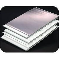 Forro Pvc Frisado Branco C/ Isolante Termico 8 Mm X 1 Mt