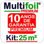 Manta Térmica Subcobertura P/ Telhado 25 M² 1 Face (premium)