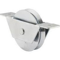 Roldana Vê Naylon Com Caixa Para Portão De Aluminio 2 Peças