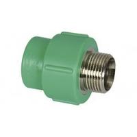 Adaptador Ppr F/m Com Ins. Metal.20x1/2 (pacote C/ 5 Peças)