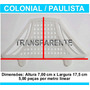 Passarinheira Telha Colonial Cristal Kit 10 Metros