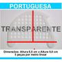 Passarinheira Telha Portuguesa Cristal Kit 10 Metros