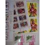 Lote Com 130 Selos De Todo Mundo Tema Flores