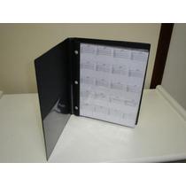 =cp= Album Para 120 Moedas C/ Fichas De Identificação