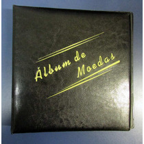 Álbum Com Argolas Para 120 Moedas