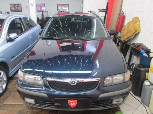 Mazda 626 Glx Sw 1999 Azul Automática Linda