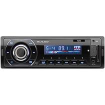 Auto Radio Usb/sd/aux/bluetooth Relógio Id3 Tag Multilaser